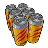 6 Pack Energy Drinks