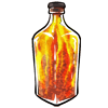 Sand Bottle: Fire